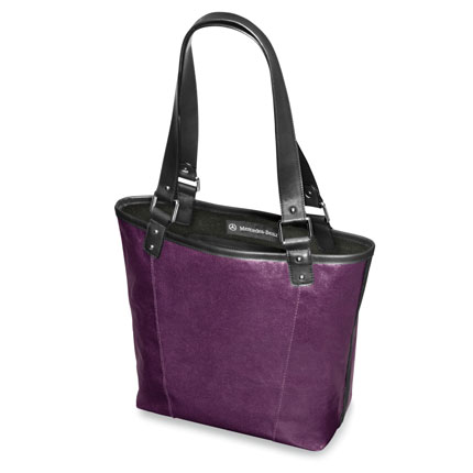 Mercedes Benz Custom Purple Tote